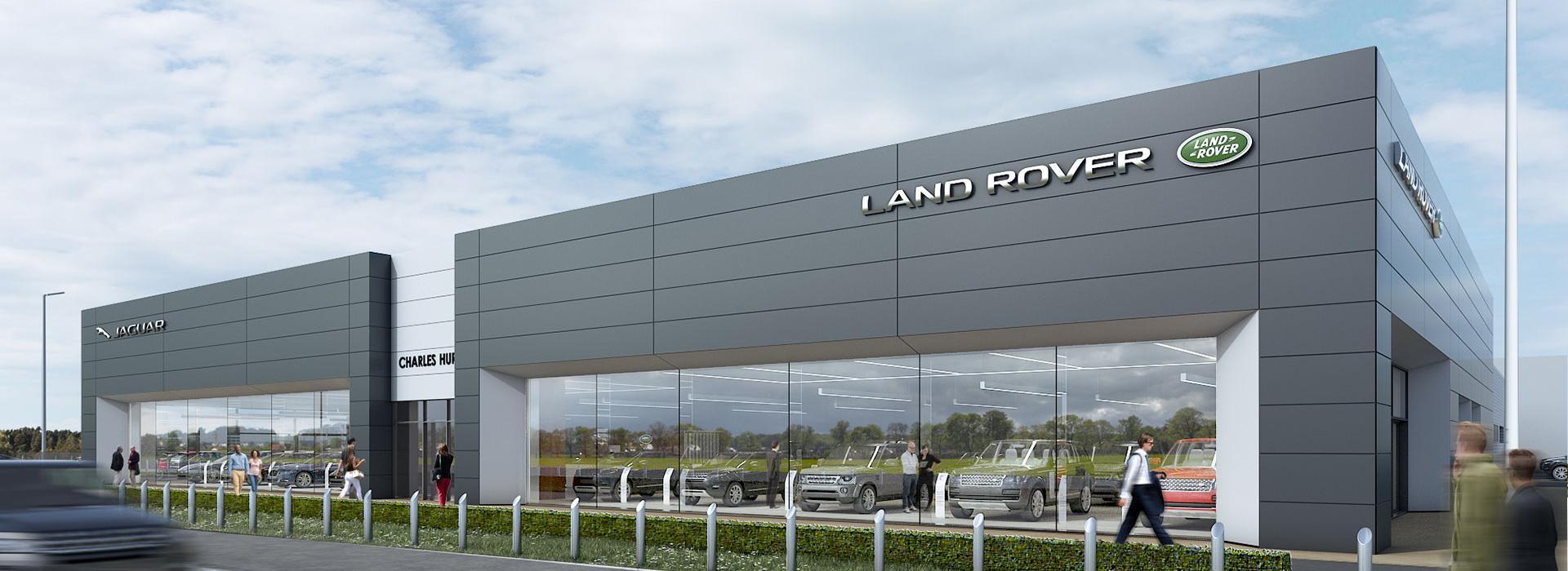 New Jaguar Land Rover Showroom | Turkington Holdings Ltd